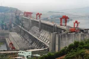 Drei Schluchten Staudamm China