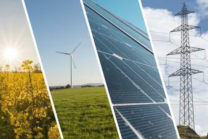 Erneuerbare Energien sind bei der Stromerzeugung auf dem Vormarsch. Atomkraft fällt deutlich zurück.